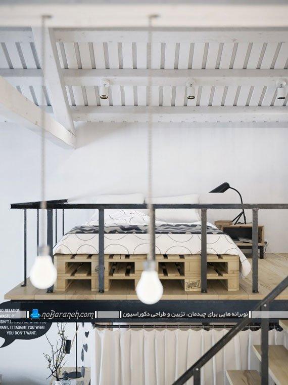 طراحی اتاق خواب دوبلکس