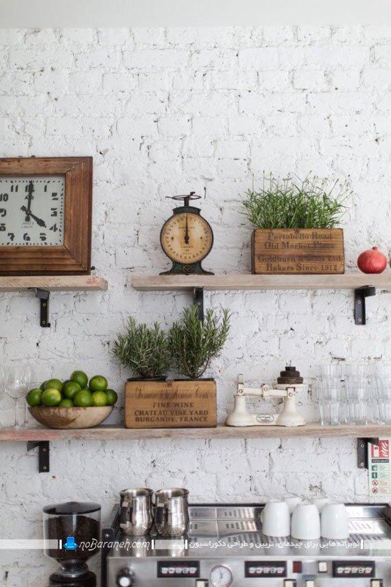 دیوارپوش آجری آشپزخانه