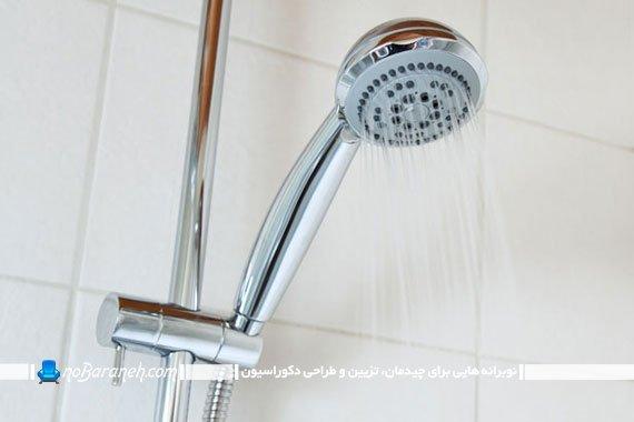 تغییر و تعویض سر دوش حمام