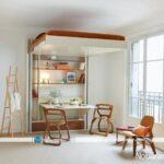 اتاق خواب هایی با ایده های نو برای صرفه جویی در فضا