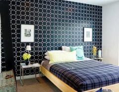طراحی دکوراسیون اتاق خواب با رنگ آمیزی شاد و ...