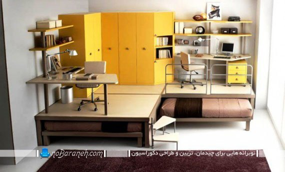 طراحی دکوراسیون اتاق دانشجویی