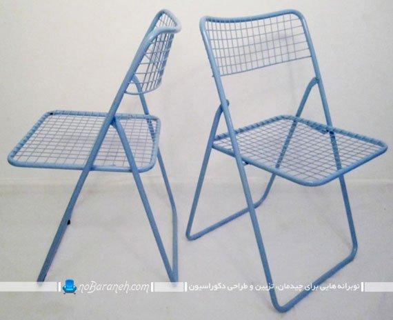 صندلی فلزی و تاشو ایکیا IKEA