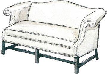 کاناپه و مبلمان کوهان دار Camelback