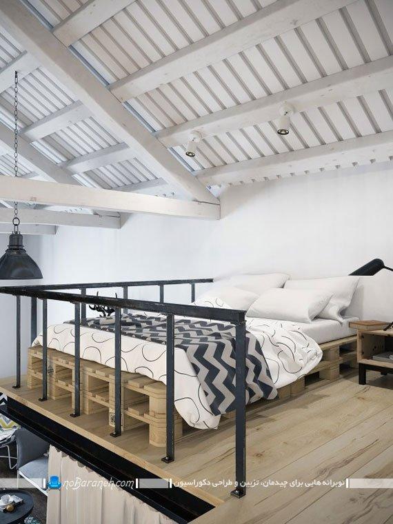 اتاق خواب خانه های دوبلکس، اتاق خواب خانه دوبلکس ، اتاق خواب نیمه دوبلکس
