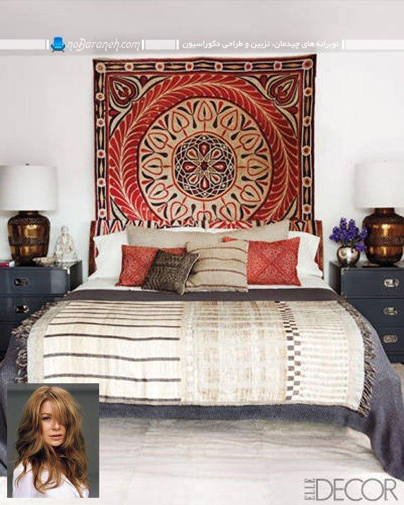 طراحی دکوراسیون مراکشی اتاق خواب