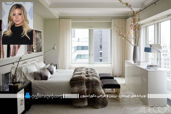طراحی دکوراسیون مدرن اتاق خواب