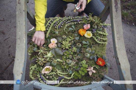 تزیین دکوراسیون با گل و گیاهان (4)