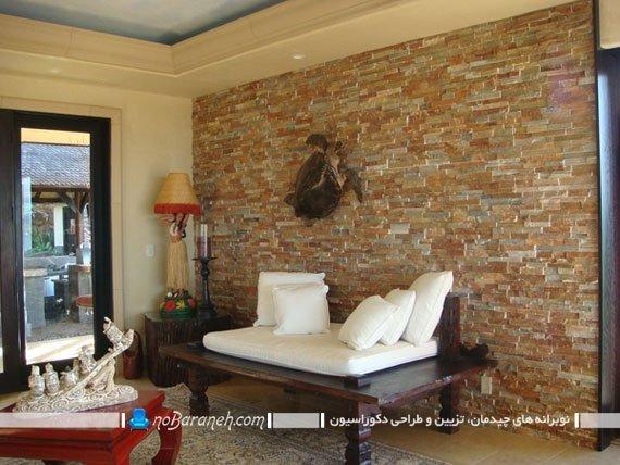 پوشش دیوار داخلی با سنگ دکوراتیو