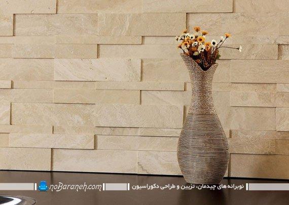 تزیین دیوارهای داخلی با سنگ آنتیک