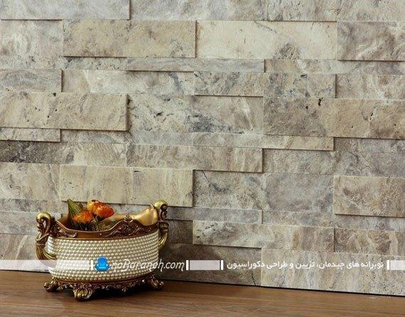 تزیین دیوارهای داخلی با سنگ آنتیک و دکوراتیو