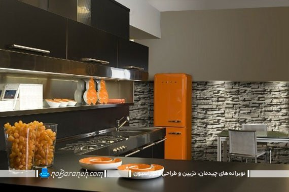 سنگ دکوراتیو برای دکوراسیون آشپزخانه