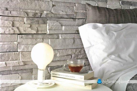 سنگ دکوراتیو اتاق خواب