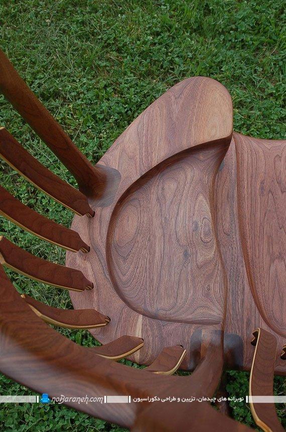 صندلی چوبی زیبا و کلاسیک