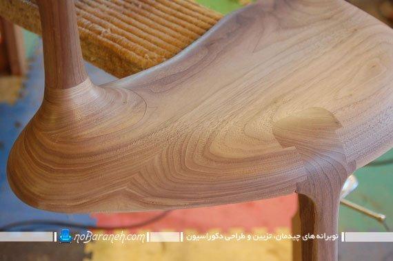 مراحل ساخت صندلی چوبی سلطنتی