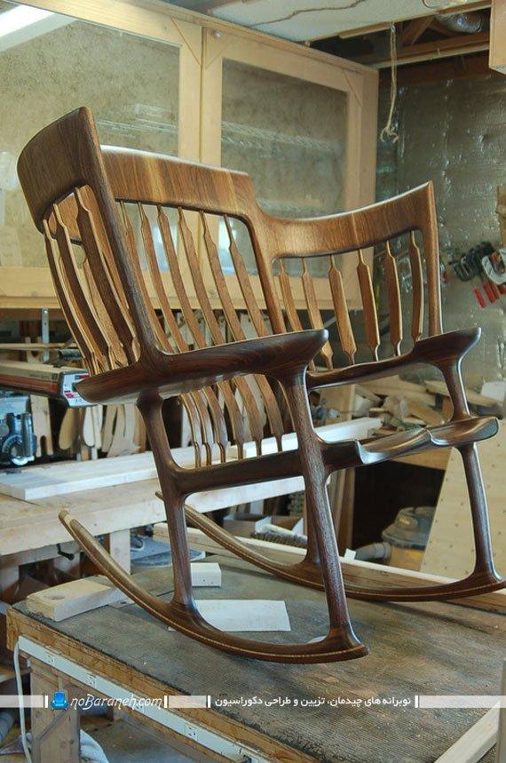 مراحل ساخت صندلی چوبی کلاسیک