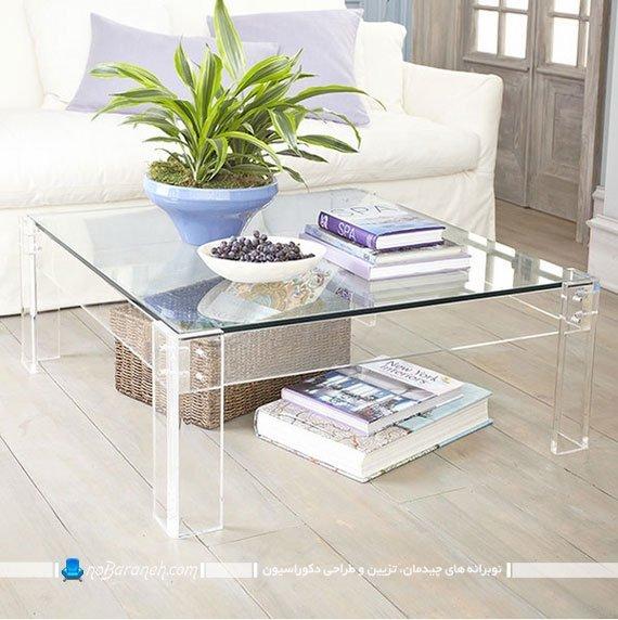 میز وسط مبلی مربع