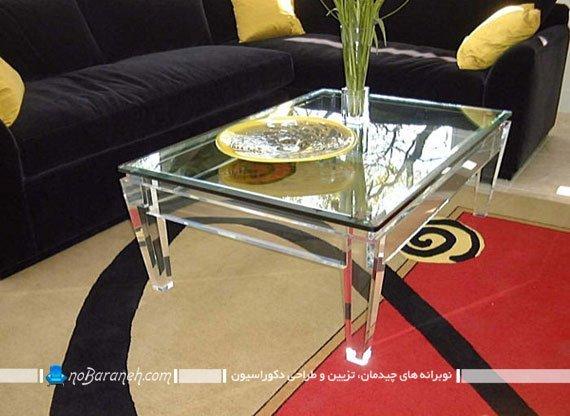 میز پایه کوتاه برای مبل راحتی