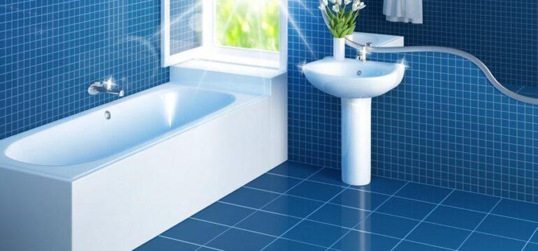 نظافت حمام دستشویی توالت