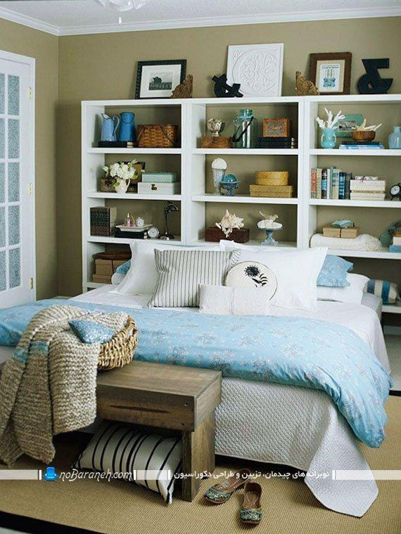 مدلهای قرار دادن کتابخانه در کنار تخت خواب