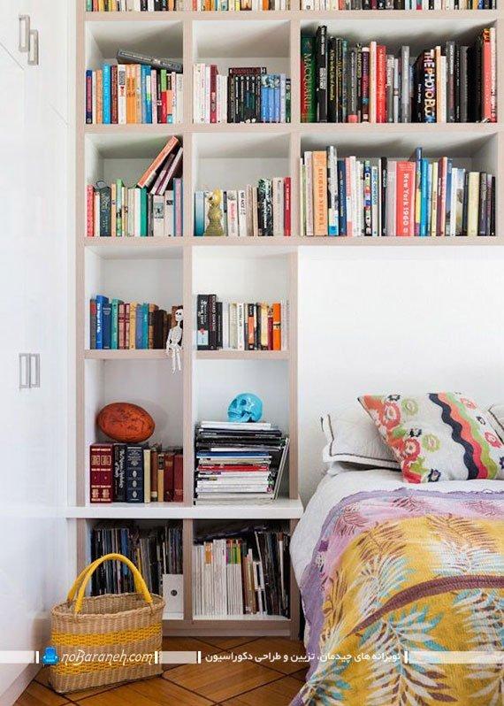 قفسه بندی فضای اطراف تخت خواب