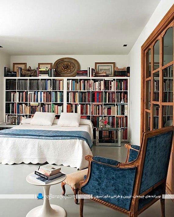 قفسه بندی و طبقه بندی در اتاق خواب