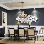 تزیین دیوار اتاق ناهارخوری با ایده های زیبا و خلاقانه