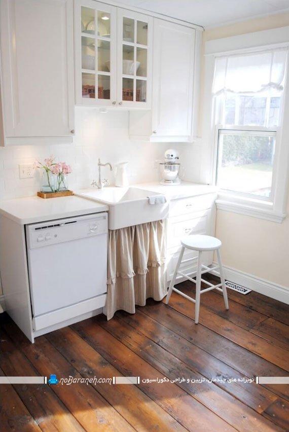 کفپوش چوبی برای آشپزخانه