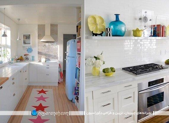 تزیینات شیک و ساده برای دکوراسیون آشپزخانه