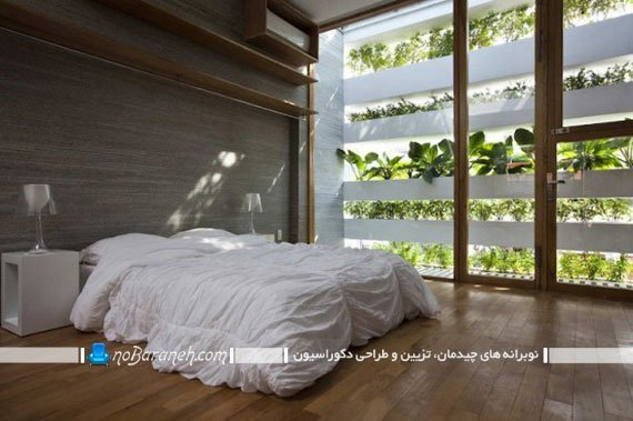 طراحی دکوراسیون مینیمالیستی اتاق خواب