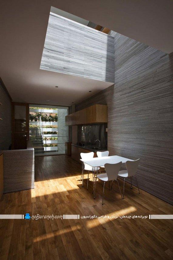 طراحی دکوراسیون داخلی با چوب