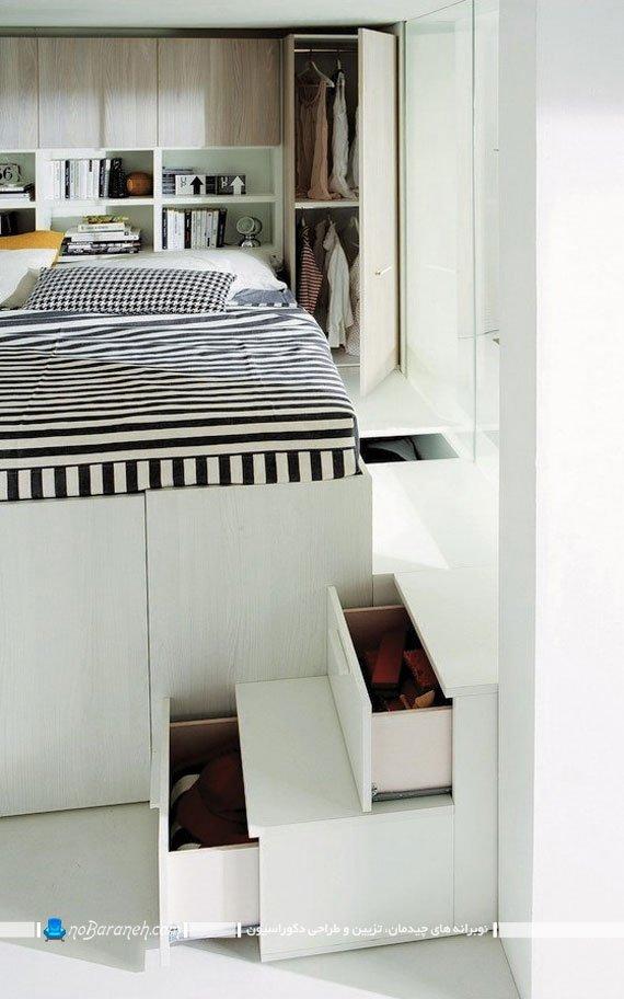 سرویس خواب برای اتاق های کوچک