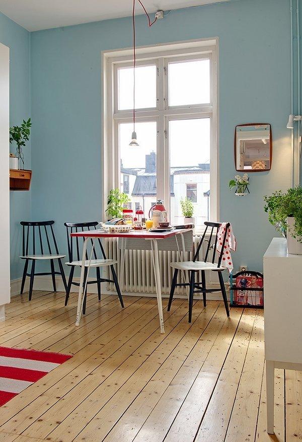 آشپزخانه آرام به سبک اسکندیناوی