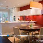 برای دیوار و کابینت آشپزخانه، رنگ مناسب برگزینید