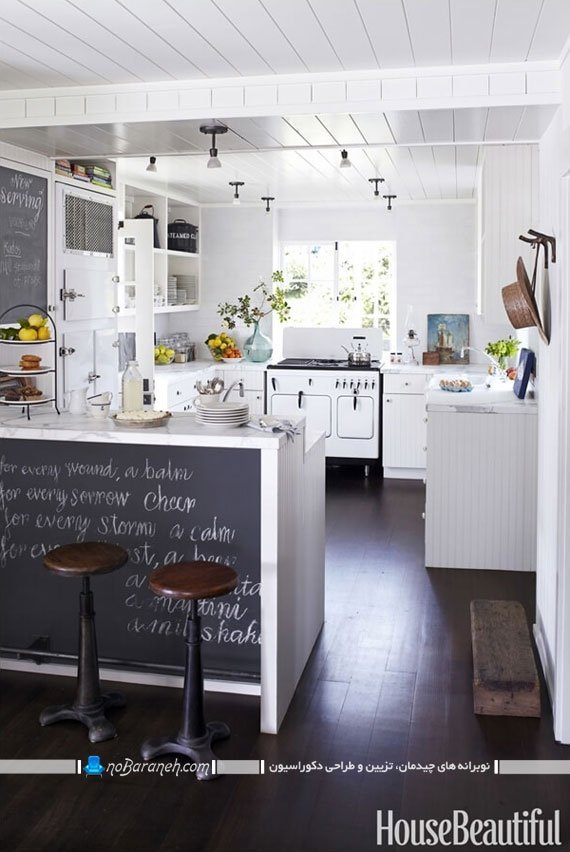 تزیین میز اپن آشپزخانه