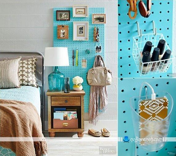 تزیین فضای و دیوار اطراف سرویس خواب