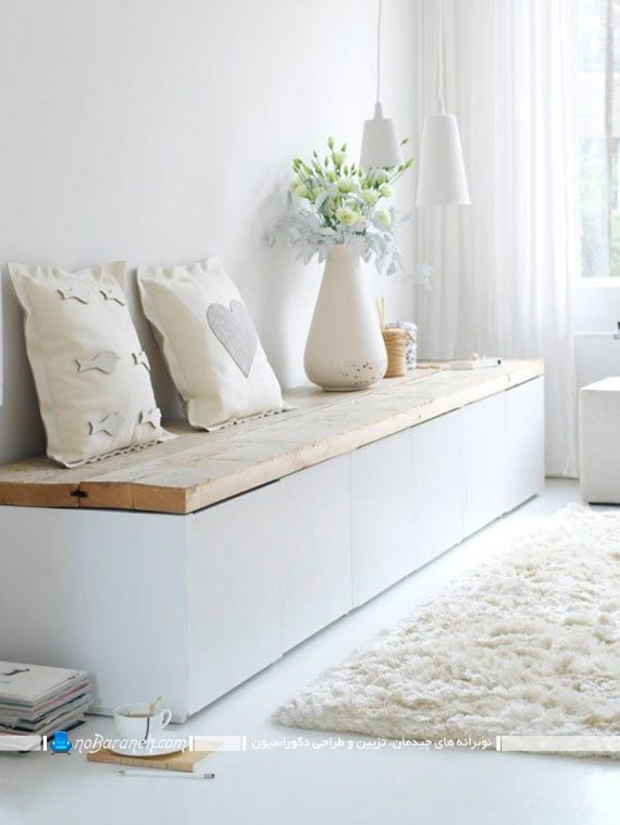 باکس درب دار سفید رنگ