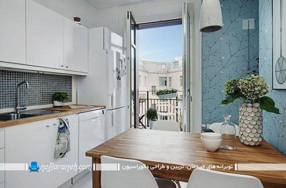 چیدمان و طراحی دکوراسیون آشپزخانه کوچک