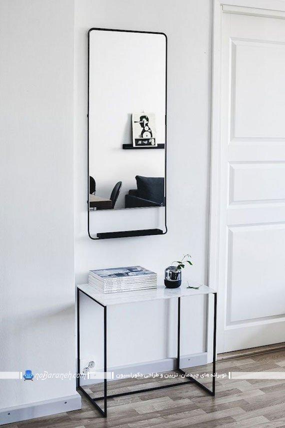 نصب آینه در راهرو ورودی منزل