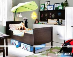 طراحی دکوراسیون اتاق خواب کودک به سبک ایکیا ikea