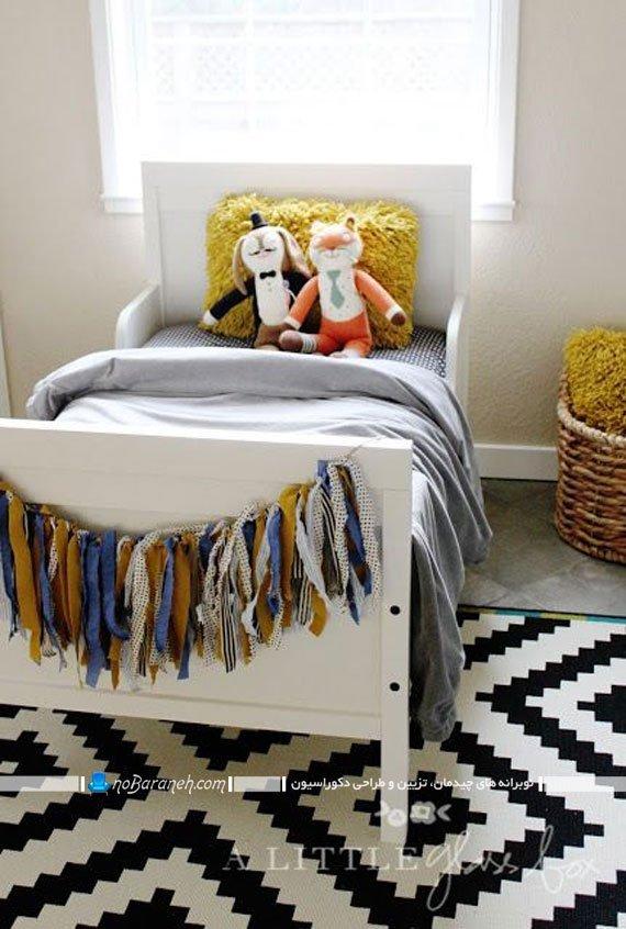 تزیین ساده اتاق کودک و نوزاد. مدل های جدید تخت خواب اتاق بچه ایکیا
