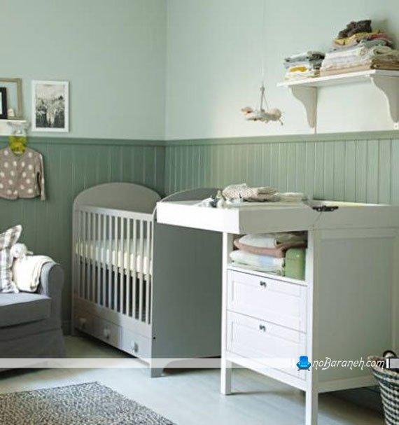 دکوراسیون اتاق نوزاد به سبک ikea