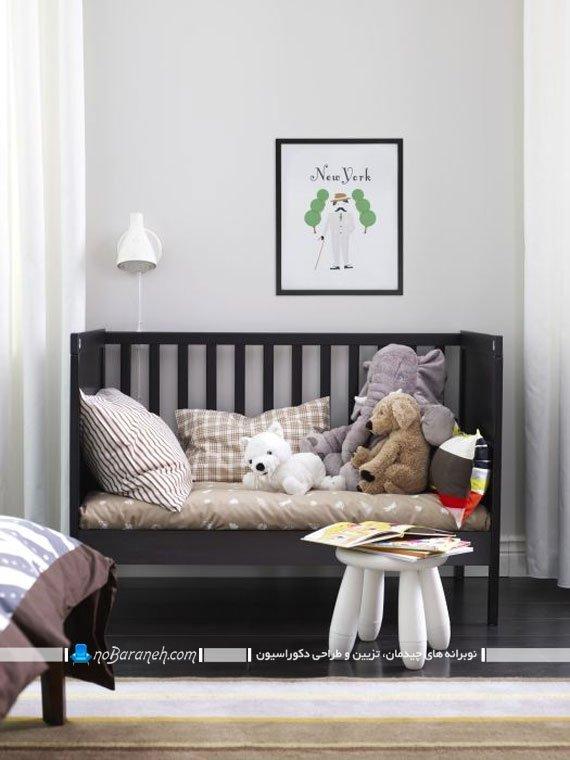 مدل مبلمان اتاق نوزاد ایکیا ikea