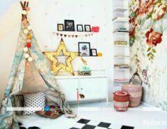 تزیین اتاق بچه ها با چادرهای مخصوص بازی کودکان