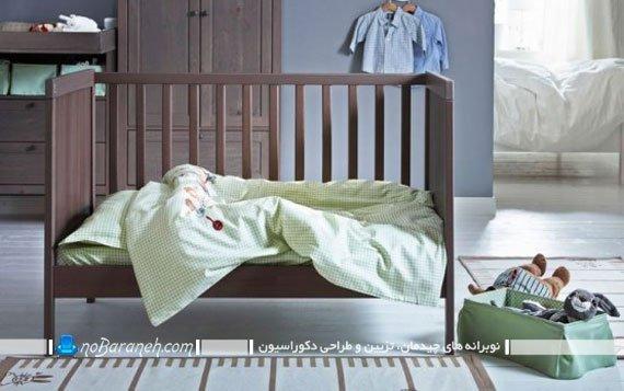 تزیین اتاق نوزاد پسر با رنگهای خنثی. عکس مدل های جدید دکوراسیون و دیزاین اتاق نوزاد با مبل ایکیا