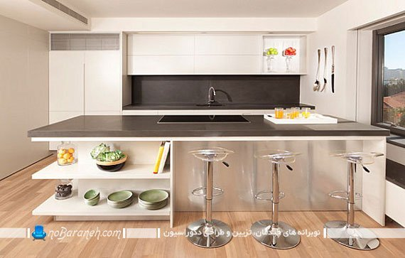 طراحی دکوراسیون مینیمالیستی در آشپزخانه