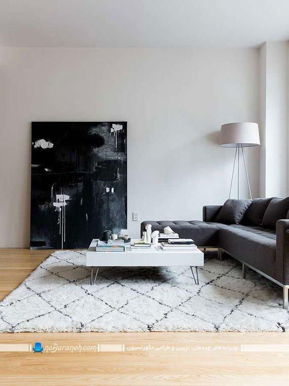طراحی دکوراسیون مینیمالیستی اتاق پذیرایی
