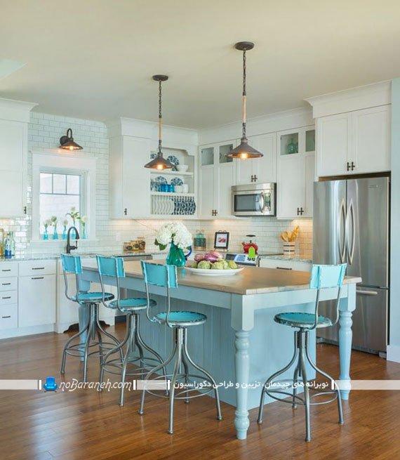 صندلی اپن آشپزخانه با طرح کلاسیک