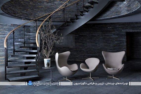 صندلی یک نفره با طراحی مدرن