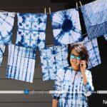 تزیین دکوراسیون داخلی خانه با طرح های آبی ژاپنی